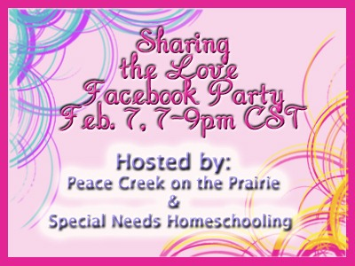 Are You Ready for a PARTY?  Facebook Party on February 7!!