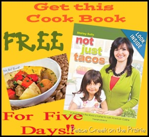 Not Just Tacos Latino Recipe and Culture eBook FREE for Five Days