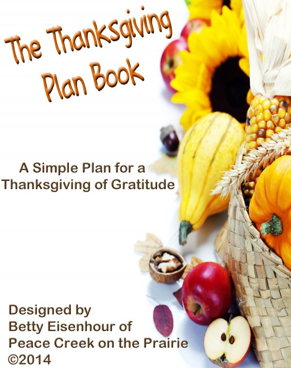 The Thanksgiving Plan Book