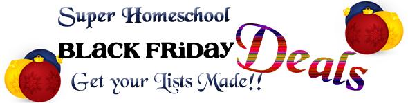 Super Homeschool Black Friday Deals