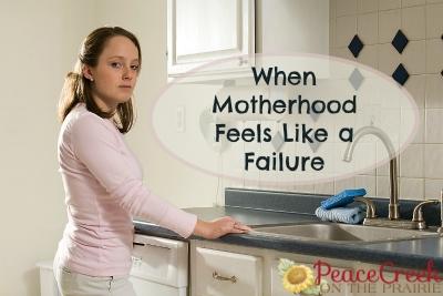 When Motherhood Feels Like a Failure