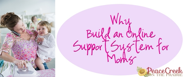Why build an online support system for moms?