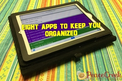 Eight Apps to Keep You Organized