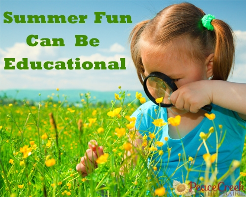 Summer Fun can be Educational