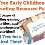 Free Early Childhood Reading Resource Pack