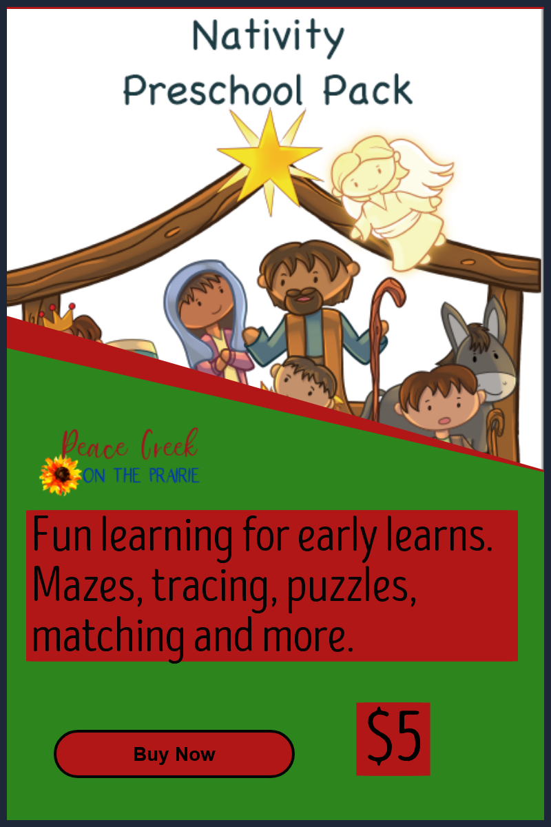 Nativity Preschool Pack